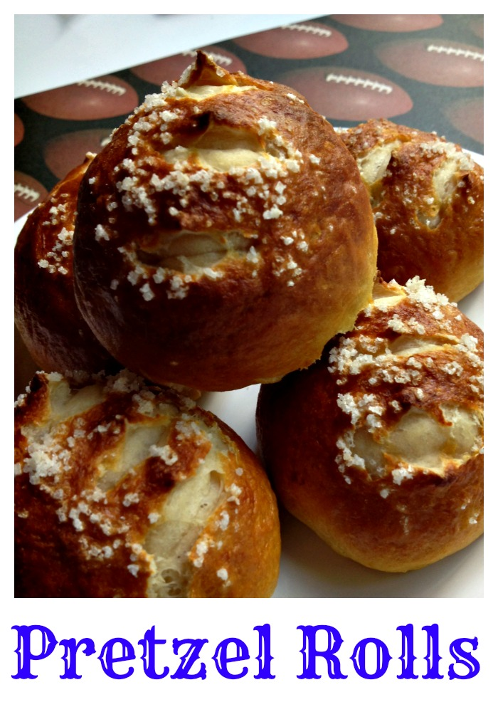Pretzel Rolls - Ripped From Pinterest - Nest Full of New