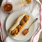 Meatball Sandwich 150x150 Superbowl Party Recipes and Tips