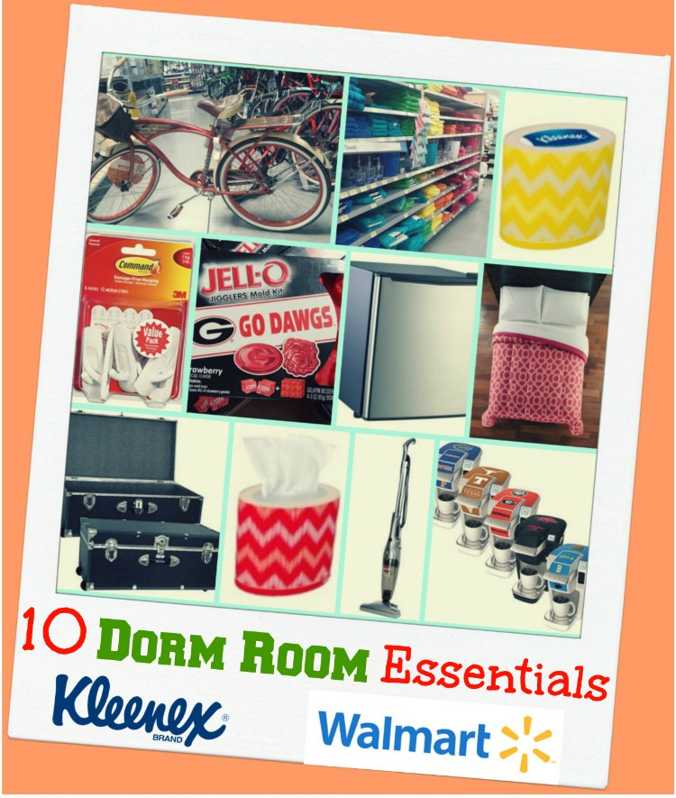 Ended 10 dorm room essentials with kleenex kleenexstyle for Small room essentials