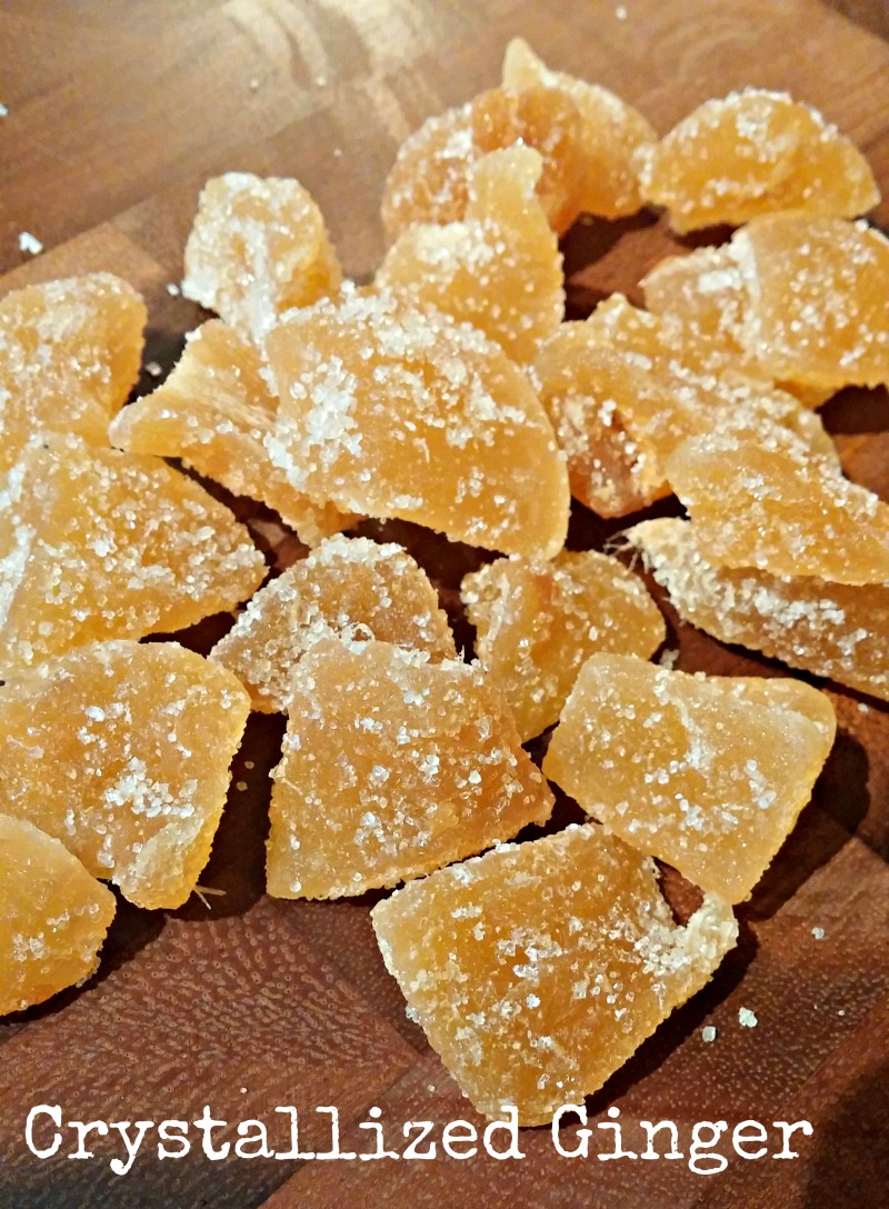 how to make crystallized ginger youtube