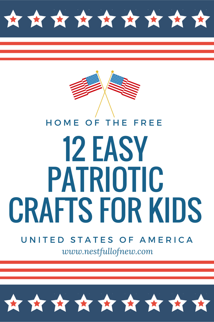 12 Easy Step By Step Natural Eye Make Up Tutorials For: 12 Easy Patriotic Crafts For Kids