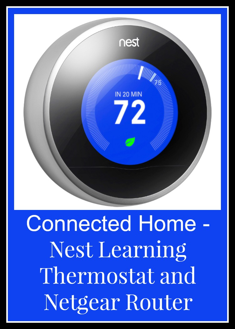 Bbyconnectedhome nest learning thermostat and netgear router nest full of new - Nest learning thermostat ...
