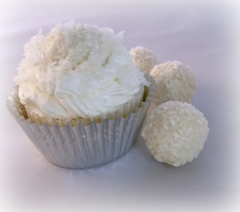Easy Coconut Snowball Cupcakes - Nest Full of New