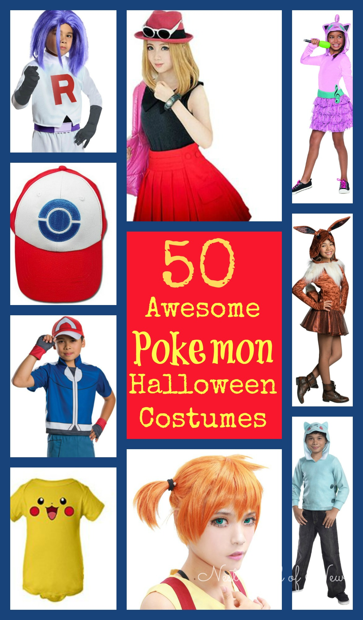 50 Halloween Hair And Makeup Tutorials: 50 Awesome Pokemon Halloween Costumes And Accessories